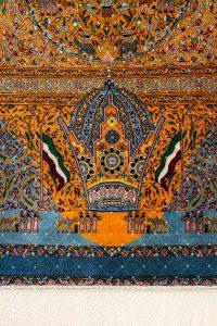 Dry Iranian handmade carpets