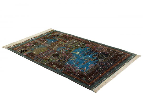Qom Hand knotted Rug ZN0823742416
