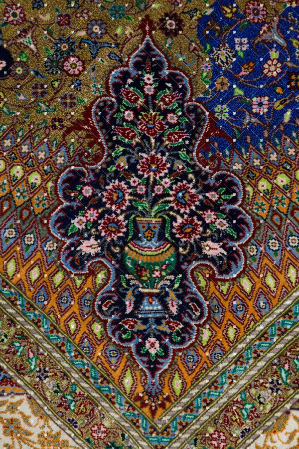 Qom Hand knotted Rug ZN0784720658