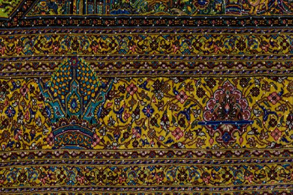 Qom Hand knotted Rug ZN1450618263