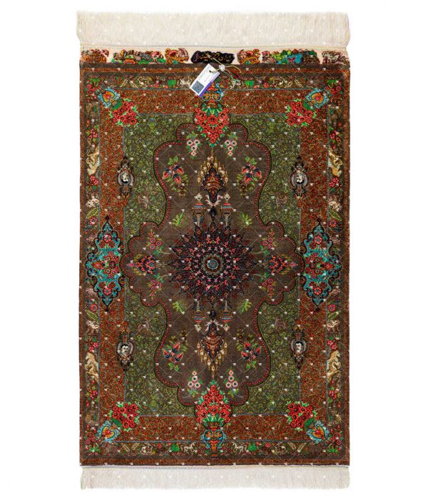 Qom Hand knotted Rug SN4552528637
