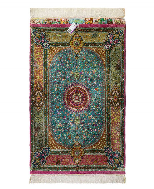 Qom Hand knotted Rug SN6222875213