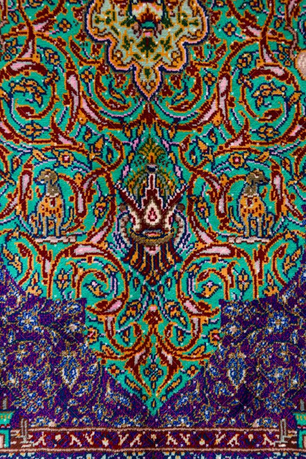 Qom Hand knotted Rug SN0588402677