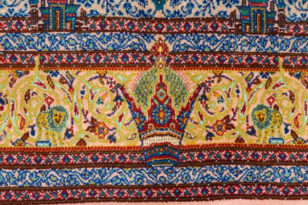 Qom Hand knotted Rug SN6569424878