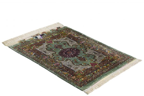 Qom Hand knotted Rug SN2518131406
