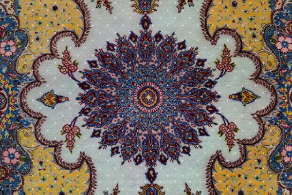 Qom Hand knotted Rug SN3654206520