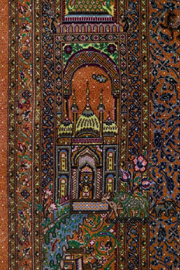Qom Hand knotted Rug SN1333353763