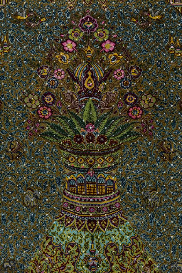 Qom Hand knotted Rug SN2027057260